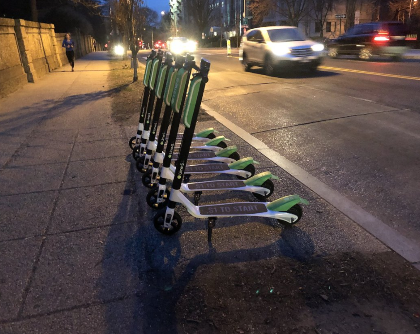 Limebike Scooters in DC