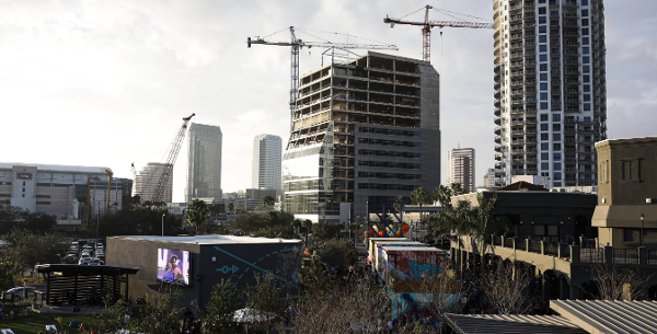 Jeff Vink and Bill Gates are  betting billions  on Tampa (pictured above)