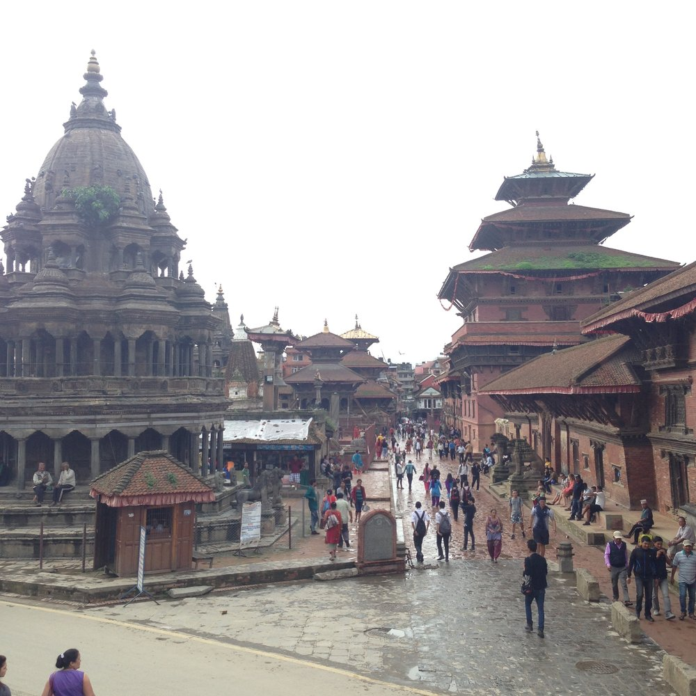 Patan Temples and market square
