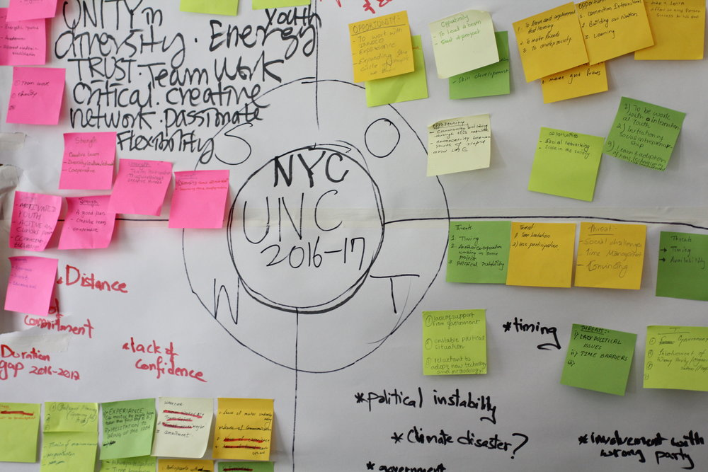 UNC2017 and NYC planning begins