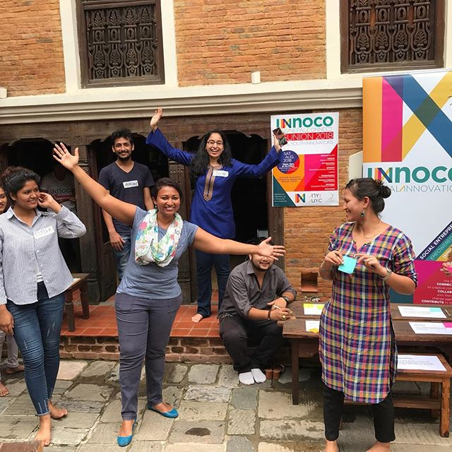 Happy faces all around! What a great start to UNC2018! Can't wait to hear more of what these awesome youth have been up to... . . . . . #UNC #uae #nepal #connect #youth #innovators @nepal_youth_cluster #reunion