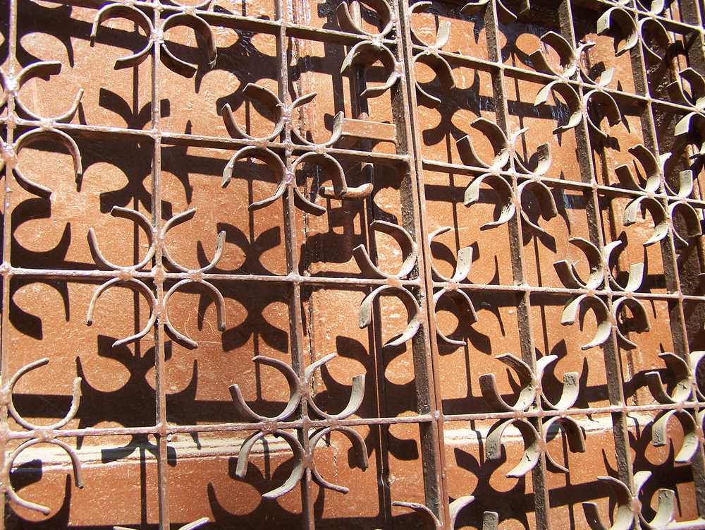 Decorative gate in Pune, India