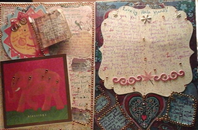 Two Inside Pages by Krista