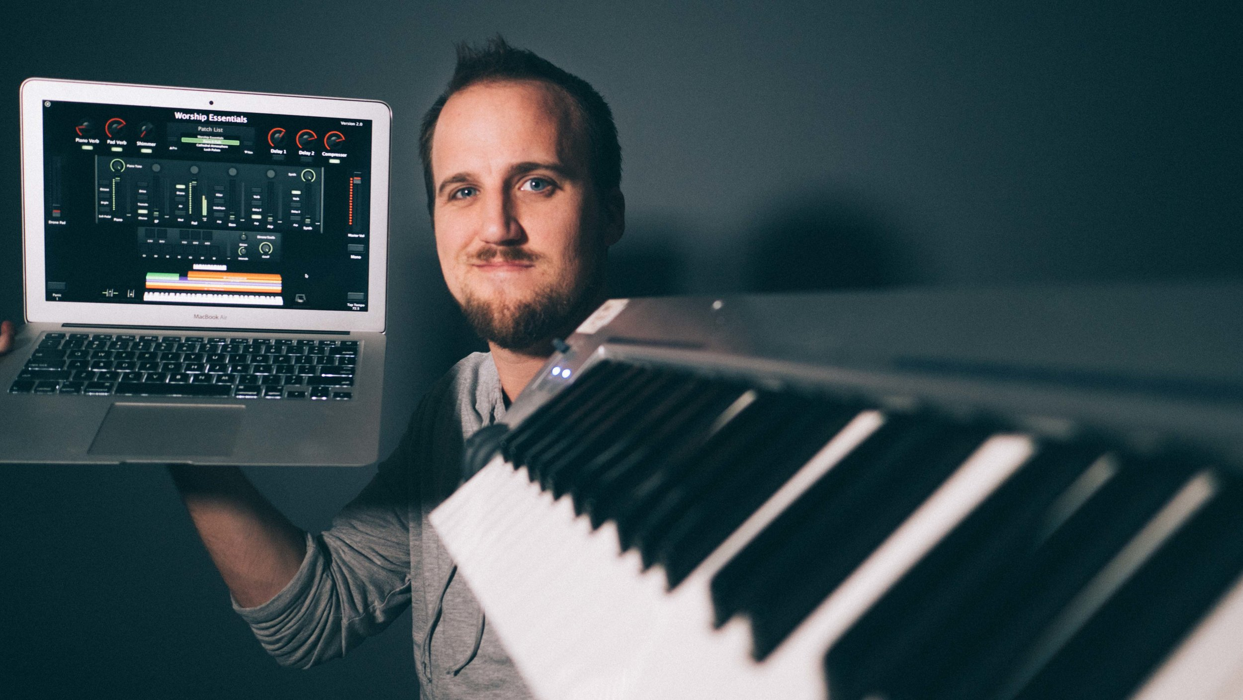 Affordable worship keyboard setup that sounds amazing — Churchfront