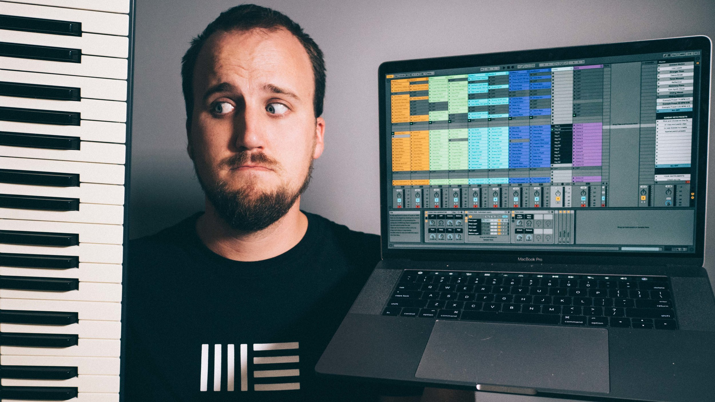 worship keyboard rig — Blog — Churchfront with Jake Gosselin