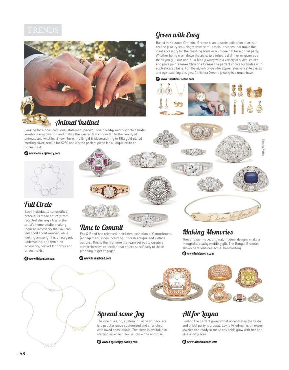 Texas Weddings Magazine - January 2017