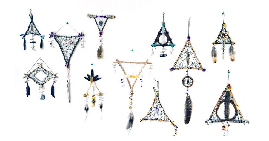 A variety of dreamcatchers by Christian T. Berry