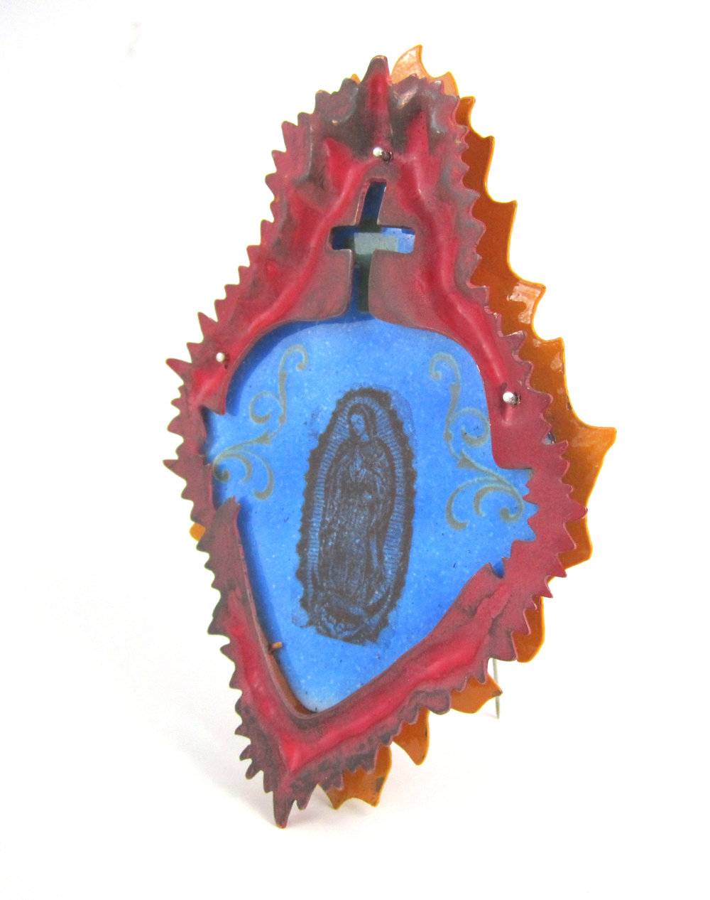 Enamel brooch, 2011.