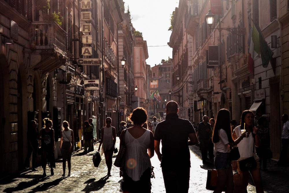 city tourist view