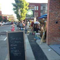 Canal District Art Walk on Water Street every third Tuesday evening this summer