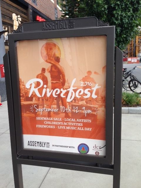 There's even a Riverfest coming up on September 10th.