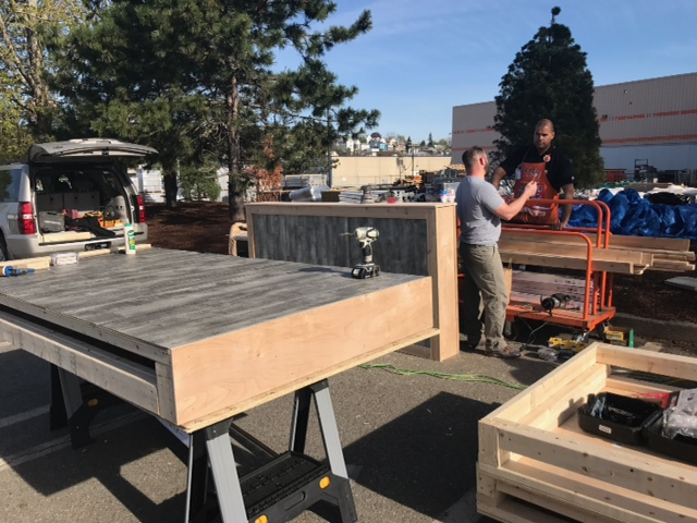 Home Depot Builds Us A Pop-Up Parklet