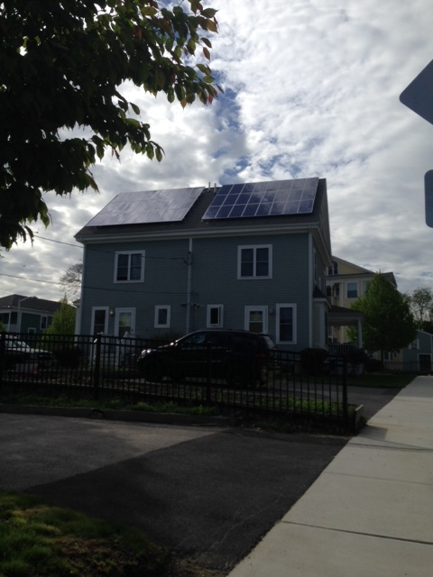 Solar Panels on a CDC Built Property