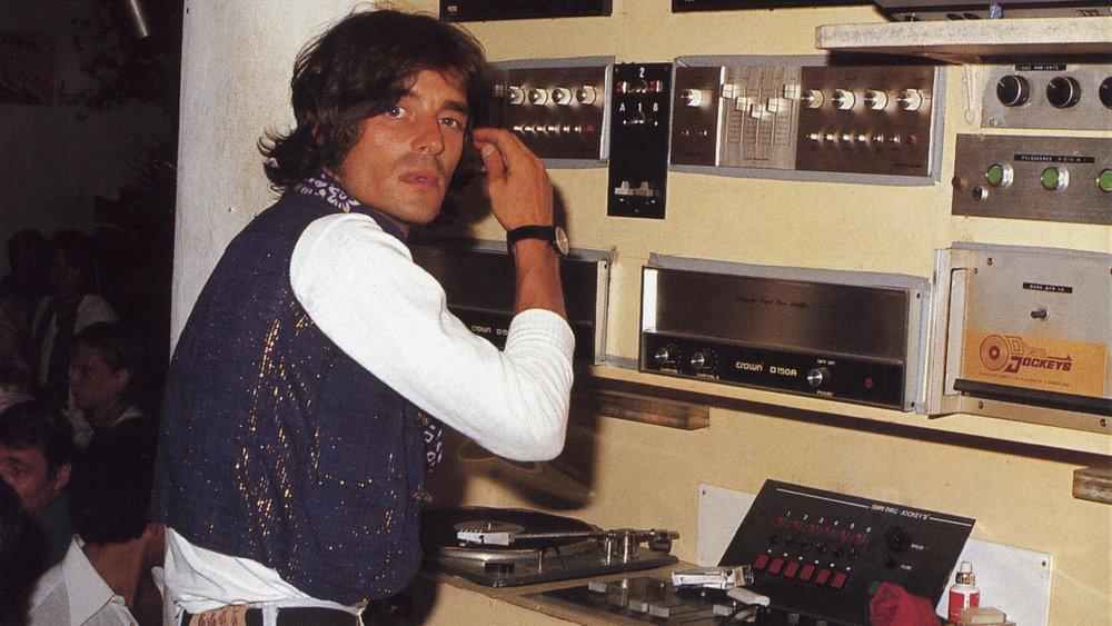 DJ BOOTH 1970'S IBIZA