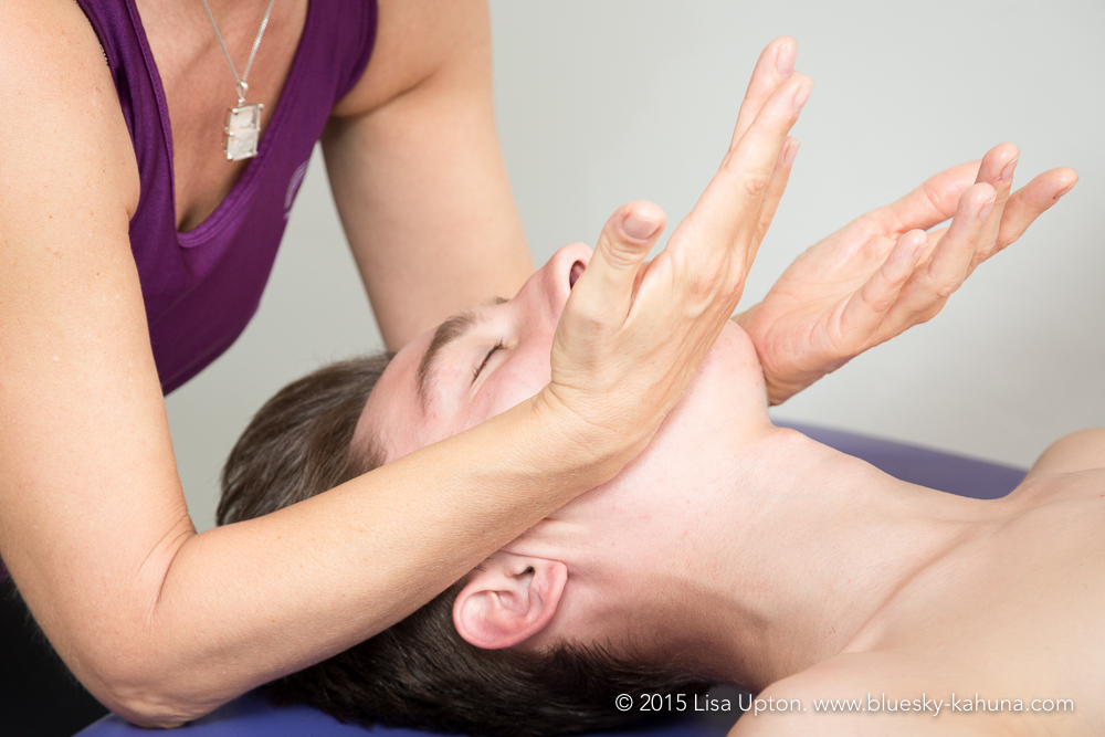 Kahuna Massage also includes head, face & feet