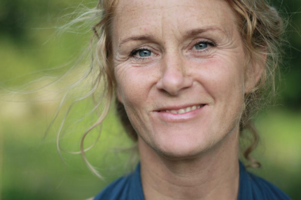 Yogalærer Sanne Bjørn