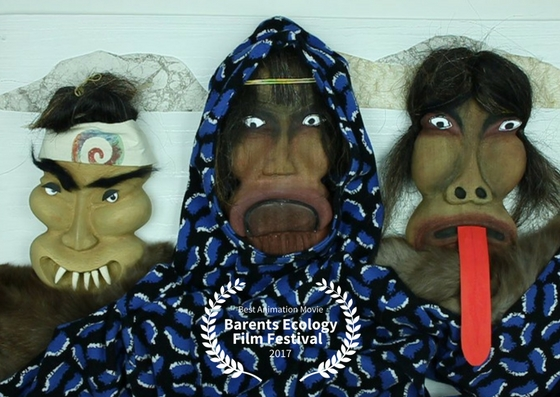 Kaassassuk won the award for best animation movie at the Barents Ecology Film Festival 2017