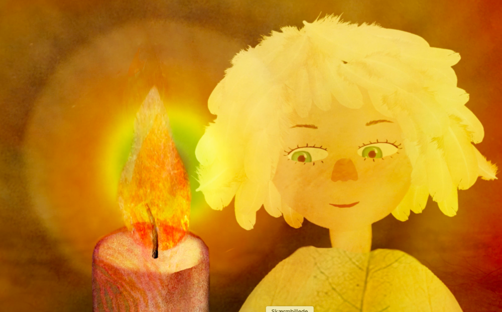 Stills fra de kommende børnemeditationsfilm