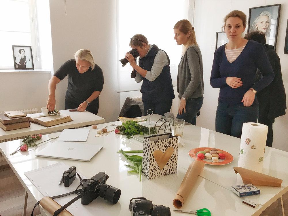 LIK Fotokurs für Frauen unter der Leitung von Nadja Gusenbauer