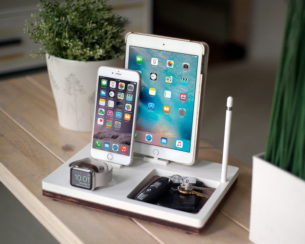 ipad iphone charging station nytstnd tray 3 free shipping charging station wireless 6277