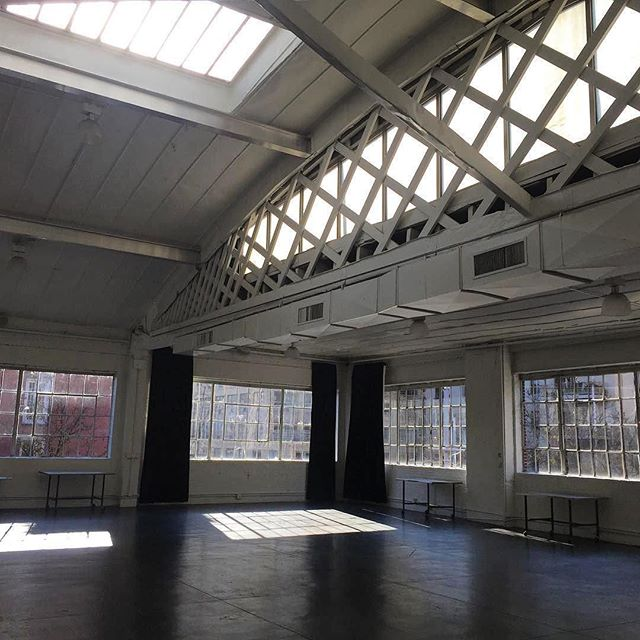 This is how we like to start our day. You? Thanks for the beautiful photo @that_mee ・・・ Such lovely light, so much potential. #blankcanvas #possibilities #IndustriaNYC