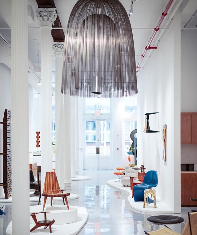 "MUST VISIT.  @randcompanynyc ""20 Years of Discovery"" at their stunning new TriBeca showroom.  #R20Year #RandCompany"