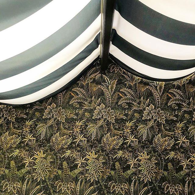 Stunning details at the new Alchemy Bar at @theacademyhotel.  Well done team! @champalimauddesign - #Repost @hamishkilburn ・・・ This wallcovering is, quite simply, out of this world! Spotted last night at the soon-to-be-unveiled The Academy in London. Fabulous pre-launch event. Bravo @alexandrachampalimaud @champalimauddesign @grifcopr @smallluxuryhotels @ytlhotels 👏 #ChampalimaudProject