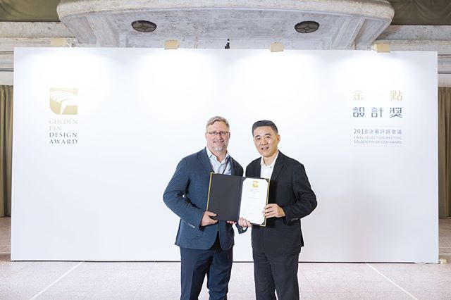 Very honored to have our Managing Director and Partner of the firm, Ed Bakos chosen as a judge for this year's @goldenpindesign. A prestigious award in Taiwan that recognizes commercial products and projects entered by design teams and industry professionals in which over one hundred are selected. #GoldenPinDesignAward #GPDA2018