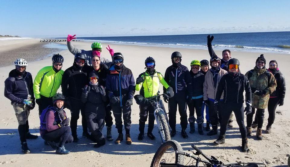 Long island area mountainbikers