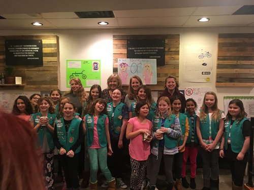 LB Girl Scout Cycling Club - We helped to educate, encourage and empower this Girl Scout Cycling Club for two months during the winter....click on the photo to read all about it.