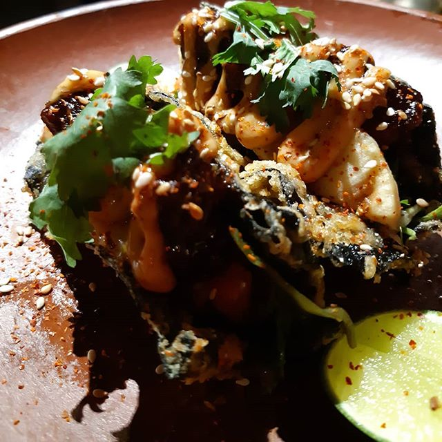 TACO TUESDAY it is! • One Taco for 40K ++ Three Taco for 100K ++ • The O.G Taco with tortilla or the famous Nori Taco, your choice! • #laramonaubud #getdrunkonourfood #laramonster #taco #tuesday #ubud #bali #restaurant #bar #speakeasy #dinner #dining #foodie #food #foodgasm #drinks #cocktail #ubudescape #holeinthewall #ubudsecret #ubudhood #balicili #BaliLocal #thebaliguideline #thebalibible #balilife #placetogo #thebaliadvisor #ubudnowandthen #beautifulcuisines