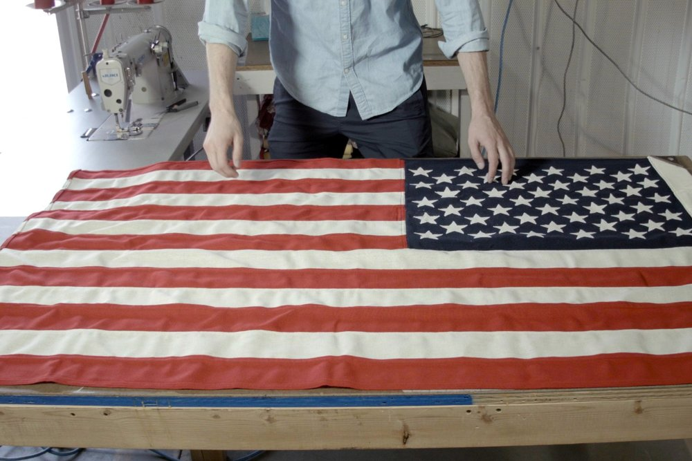 We set out to recreate the American Flag for someone who appreciates fine details. To present it as a work of art that you could feel good hanging in your home and would compliment any interior.  .