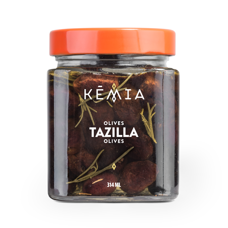 """Our olives are harvested when ripened to perfection and preserved in salt. This traditional technique is called """"Tazilla"""" in Tunisian dialect. Serve them as a starter and they will quickly disappear!"""