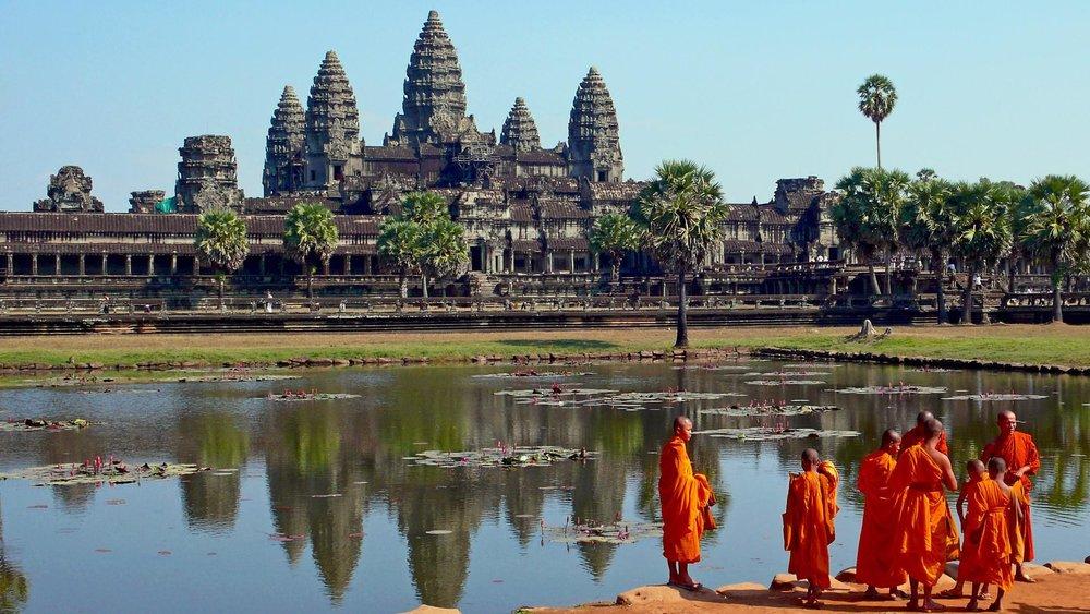 Temple - Cambodge