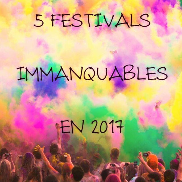 Les 5 festivals immanquables de 2017 sont là !  http://bit.ly/2jdaT4b  #Party #Summer #2017 #Op3n