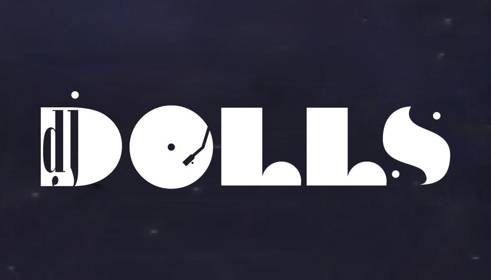 DJ DOLLS  logo design | graphic design | marketing consultation