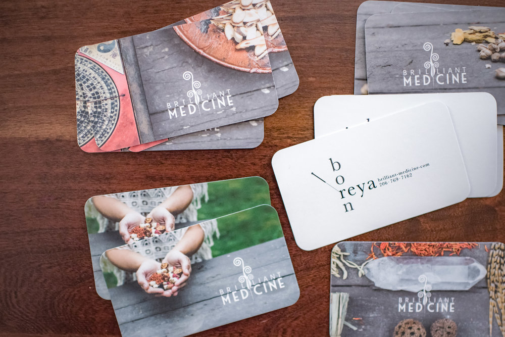 Rabena Design business card design