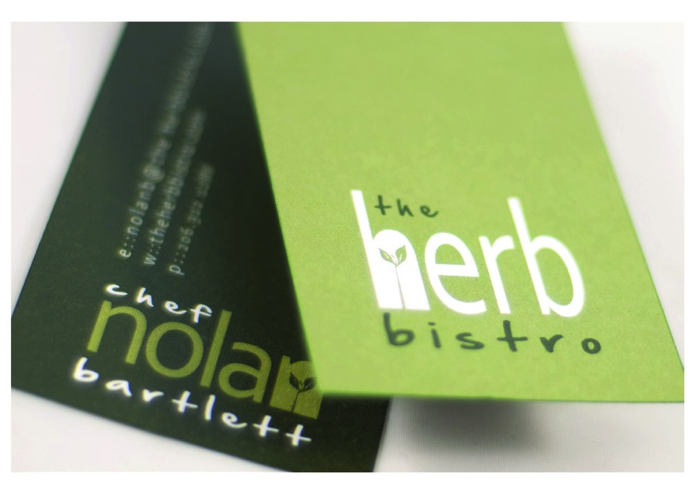 Rabena Design. business card design