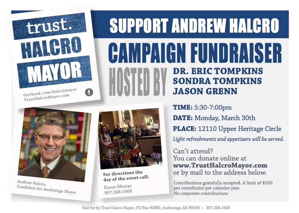 Campaign Fundraiser Event Invite