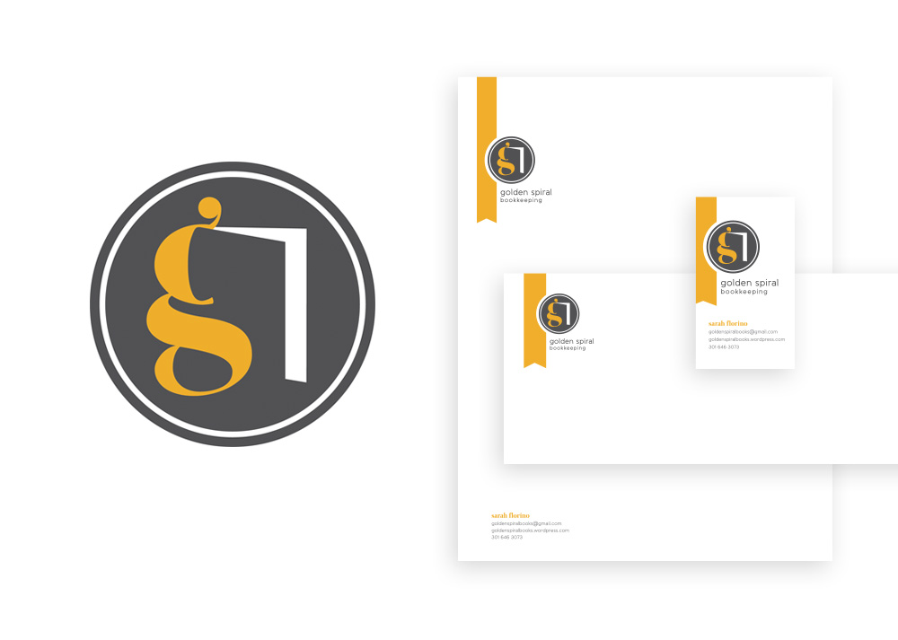 Golden Spiral Bookkeeping Branding