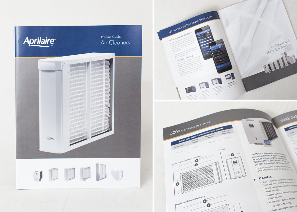 Aprilaire Air Cleaner Product Guide