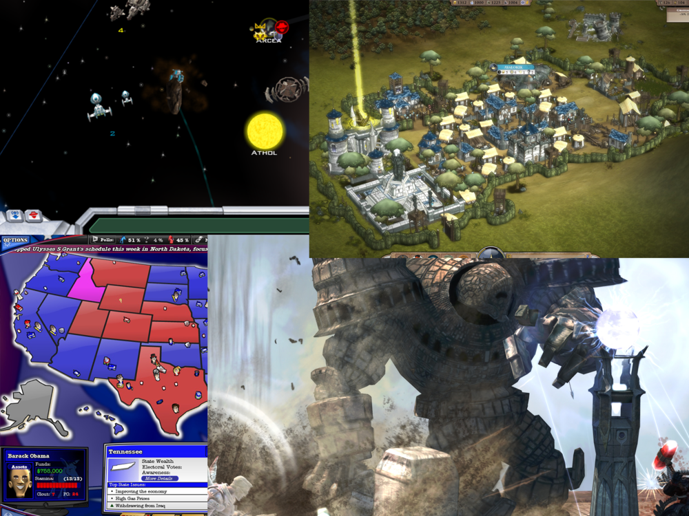 Projects - — Galactic Civilization 2: Twilight of the Arnor.— The Political Machine 2008.— Sins of a Solar Empire.— Demigod.— Elemental: War of Magic (Early Development).