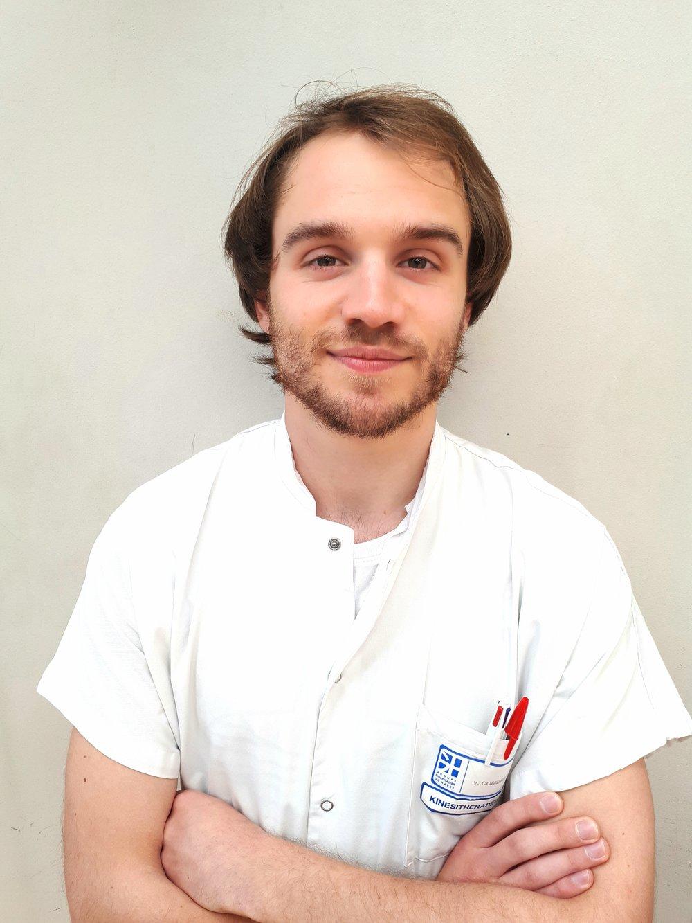 Yann Combret - Kinésithérapeute, titulaire d'un Master 2 et actuellement Doctorant à l'université de Louvain dans le domaine des pathologies resiratoires pédiatriques