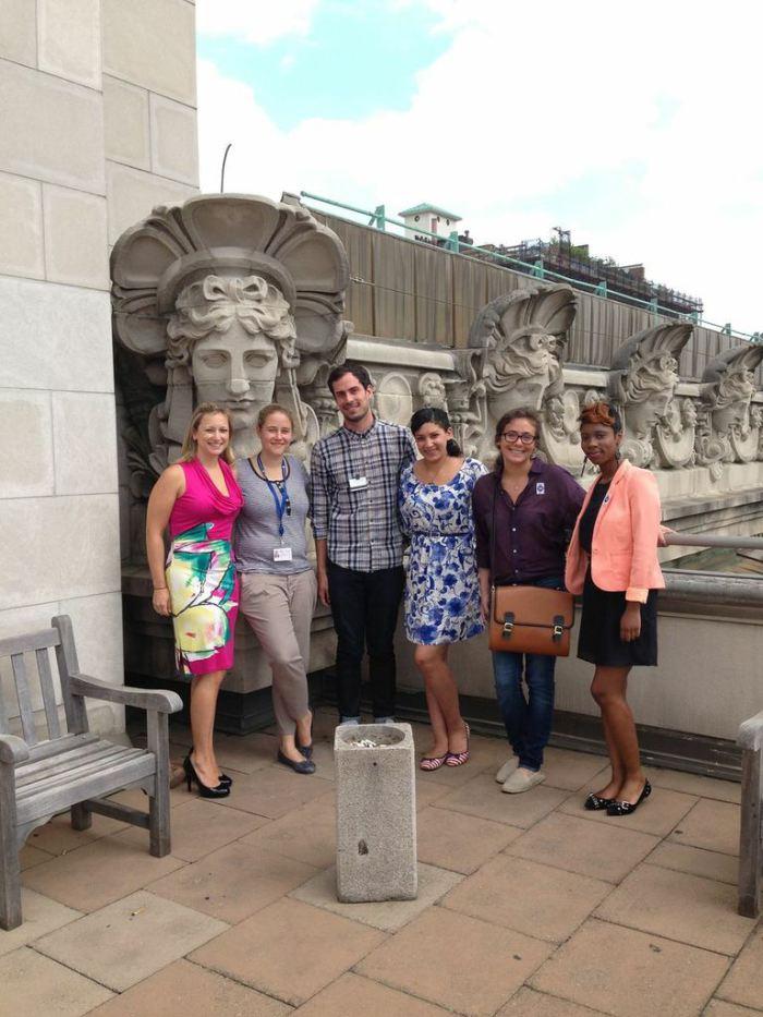 Niborista_Met Museum_social media team_lunch with ARTnews interns
