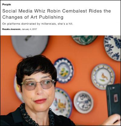 Robin Cembalest_Artnet_Rozalia Jovanovic interview