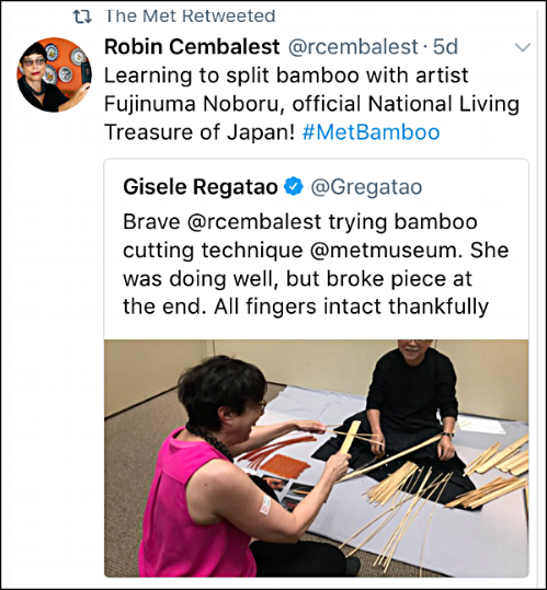 Fujinuma Noboru_bamboo basket_Metropolitan Museum