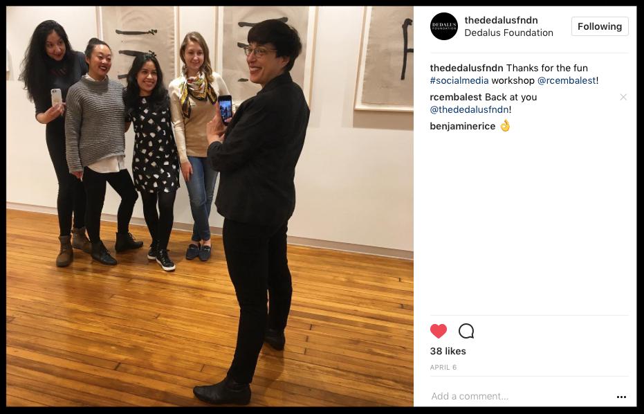 Art Nonprofit organizations receive social media strategy