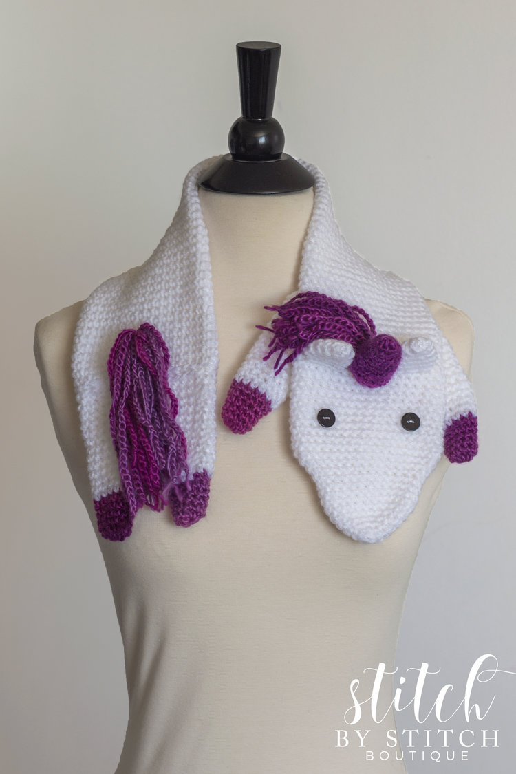 Unicorn fever scarf semi sweet crafter unicorn fever scarf free crochet unicorn fever scarf pattern bankloansurffo Choice Image