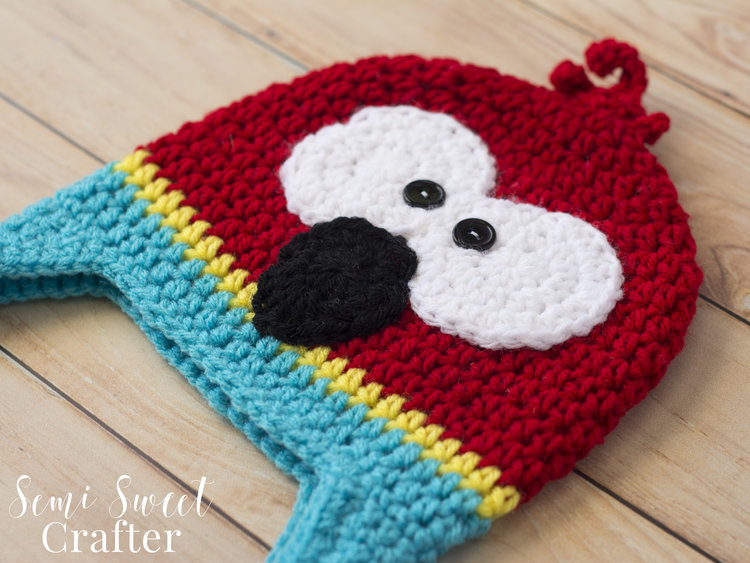 Parrot Hat Semi Sweet Crafter