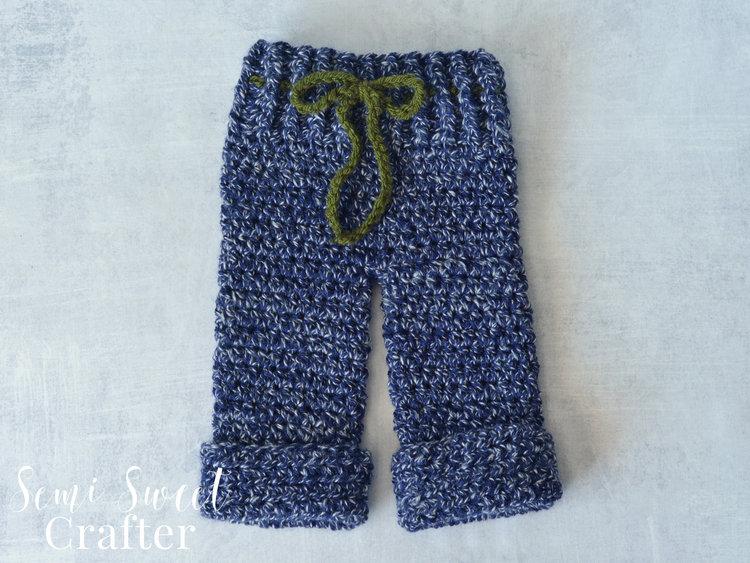 Newborn pants semi sweet crafter free crochet newborn pants pattern dt1010fo